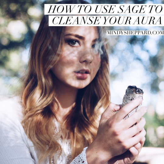 How to use sage to cleanse your aura, and why energy clearing is so important to attract miracles and happiness into your life through the law of attraction.